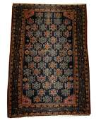 Wool on Cotton Persian Area Rug