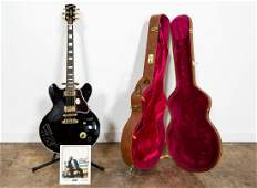 """B.B. KING PLAYED """"LUCILLE"""" ELECTRIC GUITAR"""