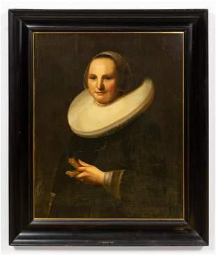 1641 VAN ZUYLEN, DUTCH PORTRAIT OF A LADY, FRAMED