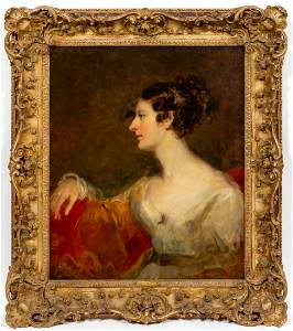 SIR THOMAS LAWRENCE, PORTRAIT OF MISS KENT