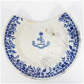 RMS CARPATHIA SALVAGED FIRST CLASS PLATE