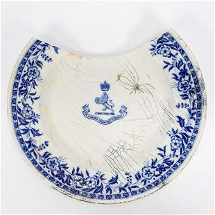 RMS CARPATHIA, SALVAGED FIRST CLASS PLATE