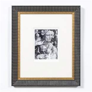 FLORAL ACT DAVINCI BLACK & WHITE PHOTOGRAPH