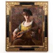 "SAMUEL BURTIS BAKER, ""VIOLA WITH GUITAR"", 1919"