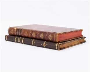 A. PALLADIO, 2 VOLS. OF 4 BOOKS OF ARCHITECTURE