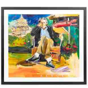 STEVE PENLEY, PORTRAIT OF HOWARD FINSTER