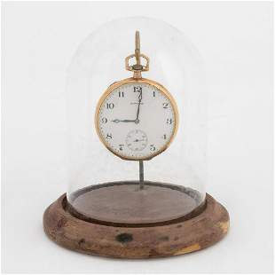 E. HOWARD SERIES 7 GOLD FILLED POCKET WATCH