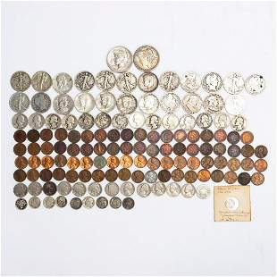 LARGE GROUP OF MISCELLANEOUS AMERICAN COINS