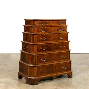 MAITLAND-SMITH TIERED CAMPAIGN STYLE CHEST