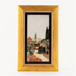 FLORENCE CATHEDRAL PIETRA DURE, FRAMED
