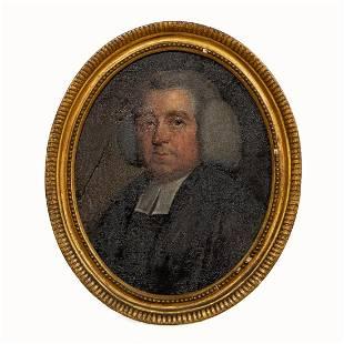 19TH C, ENGLISH SCHOOL, PORTRAIT OF A MAN, FRAMED