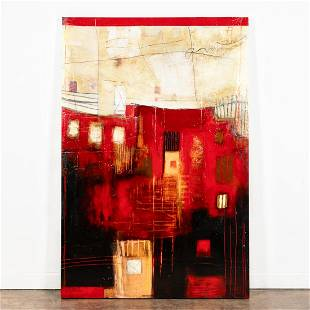 ANKE SCHOFIELD, LARGE SCALE ABSTRACT PAINTING