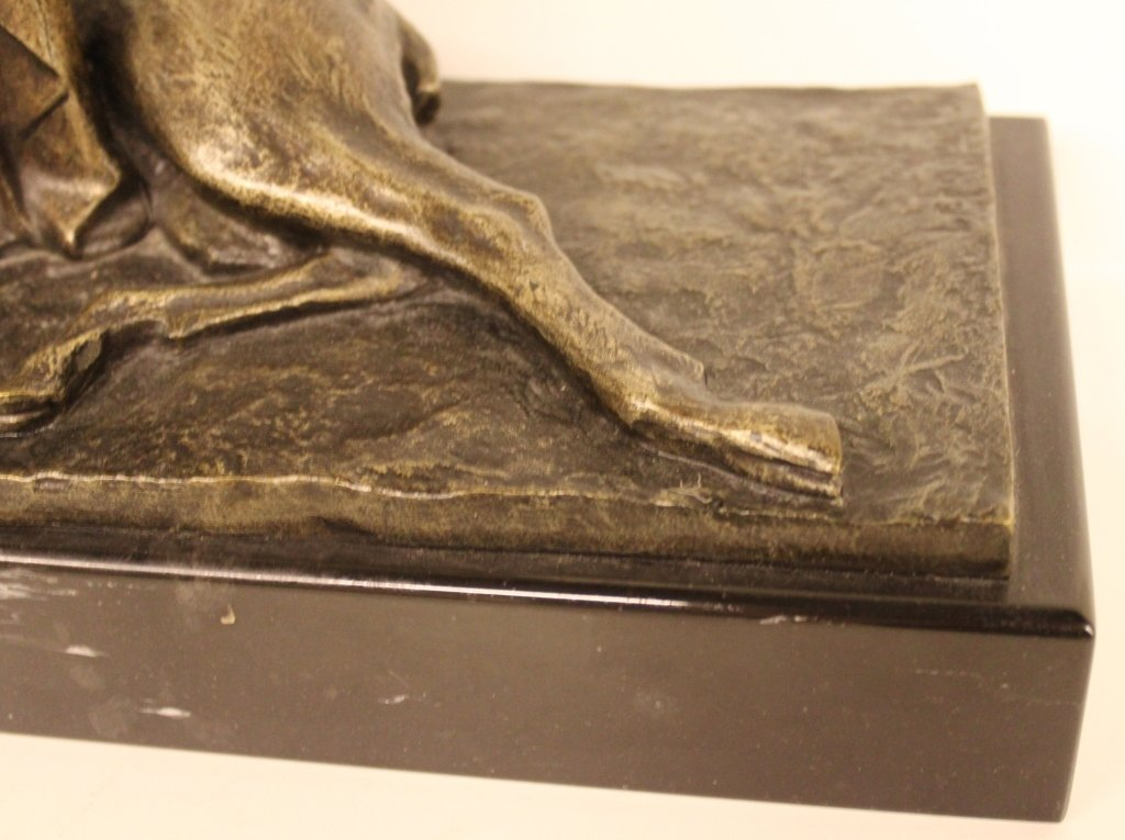 Pierre Le Faguays Bronze Sculpture Diana the huntress - 4