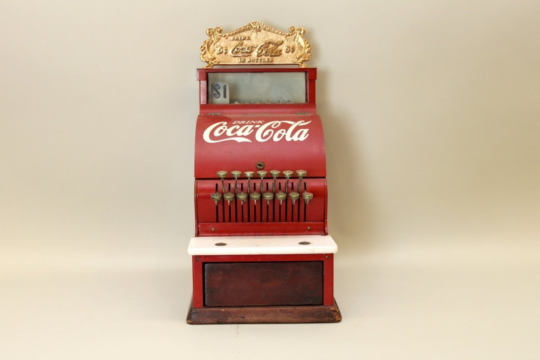 Red Coca Cola Cash Register