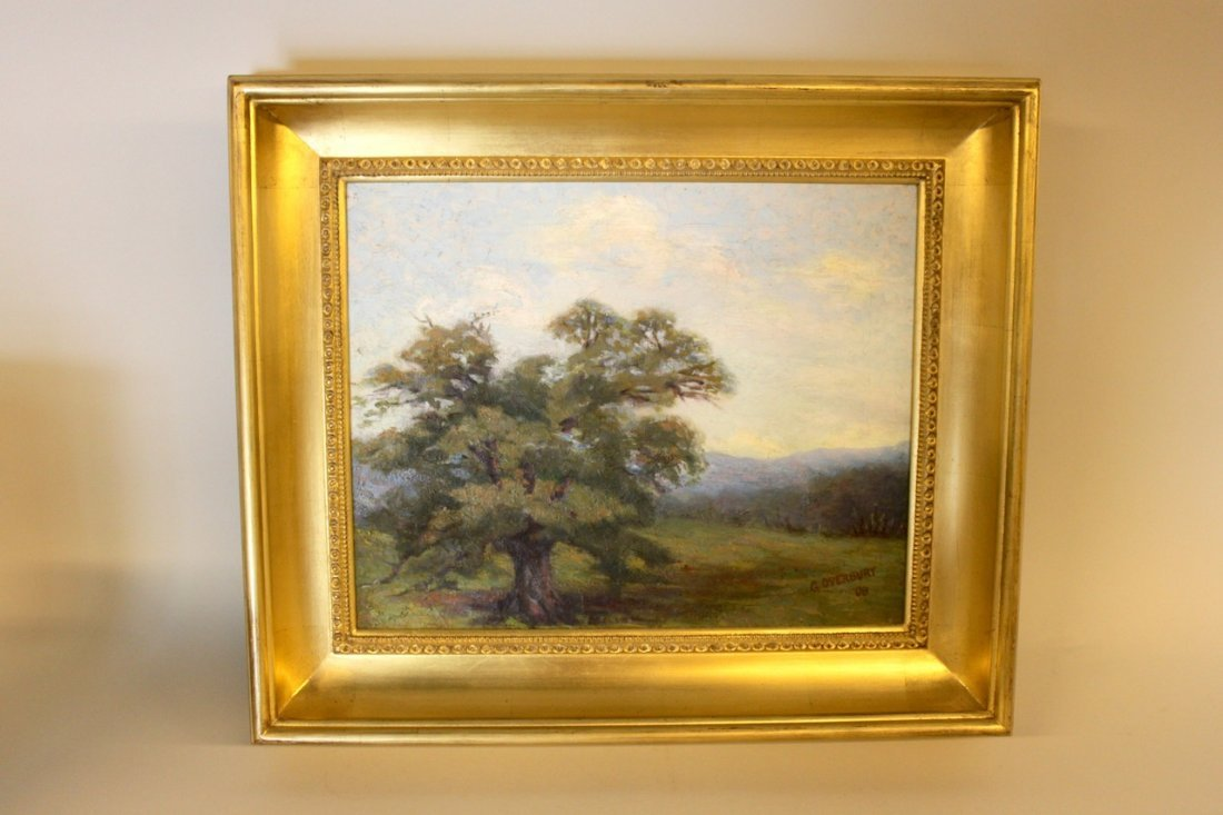 "George Overbury Hart Oil on Canvas ""Sonoma"""