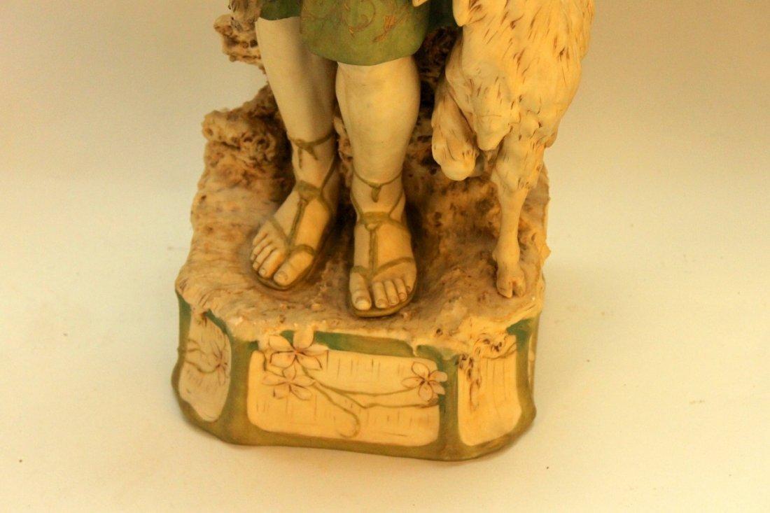 Monumental Royal Dux Figure of Shepherd - 2