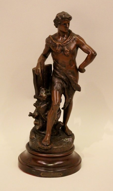 19th C. French Spelter Sculpture