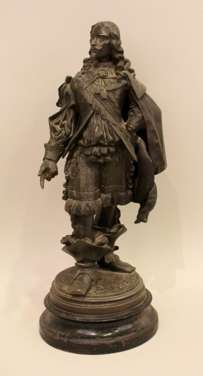 19th C. Spelter Sculpture