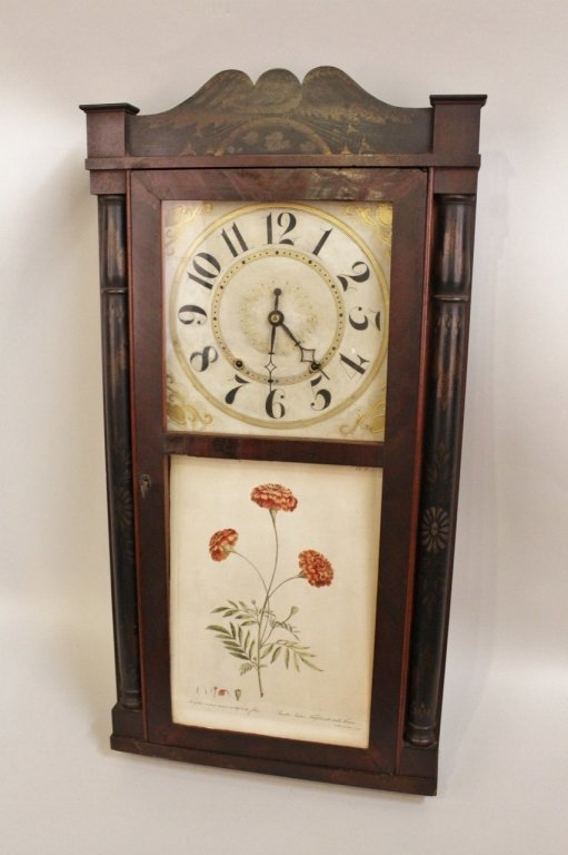 19th C. Southern Shelf Clock