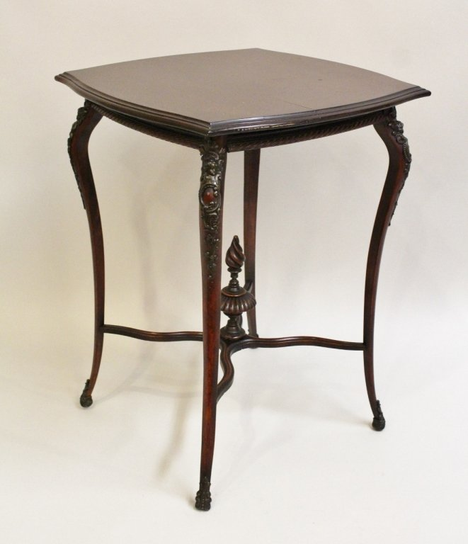 E. 20th C. Mahogany Stand