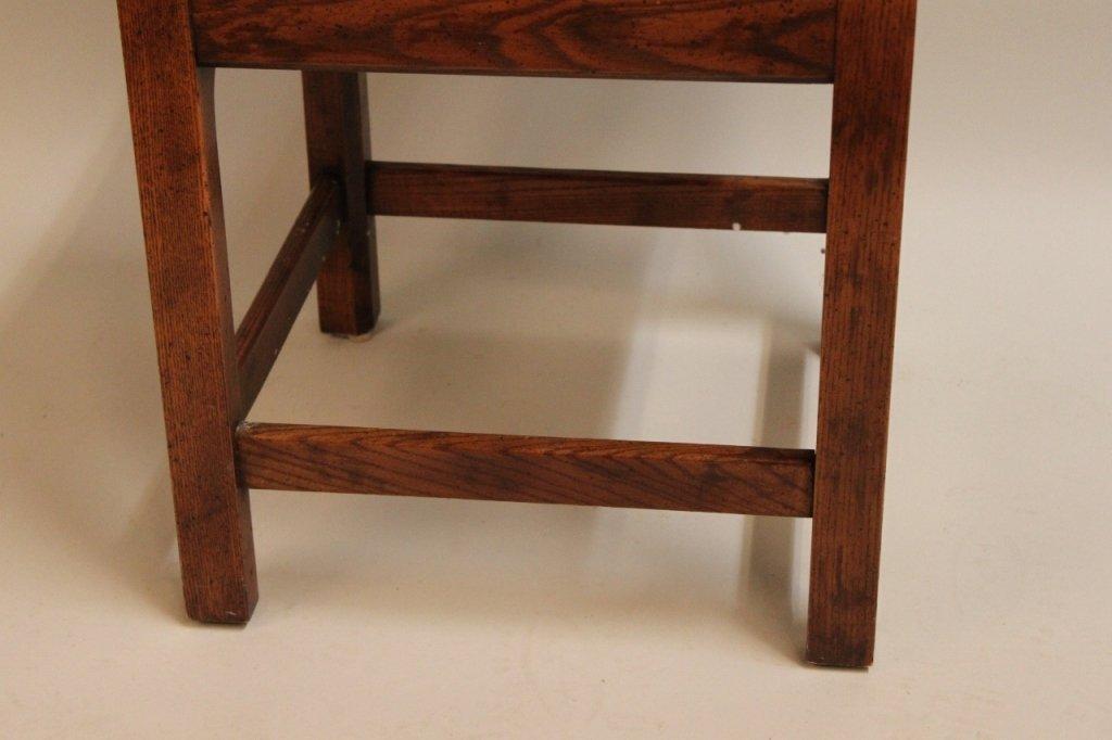 20th C. Oak Corner Chair by Randy Wilkerson - 2