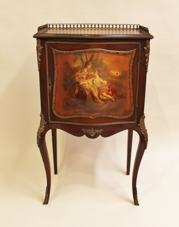 Late 19th C. French Bronze Mounted Cabinet