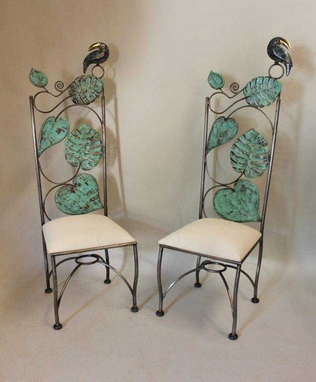 Pair of Emilio Castillo Chairs
