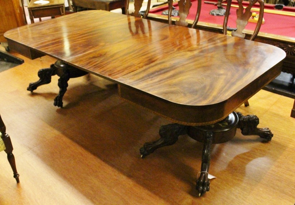 Classical Federal NY Table ca. 1830-1840 - 6