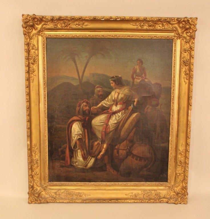 Mid-19th Century Oil on Canvas