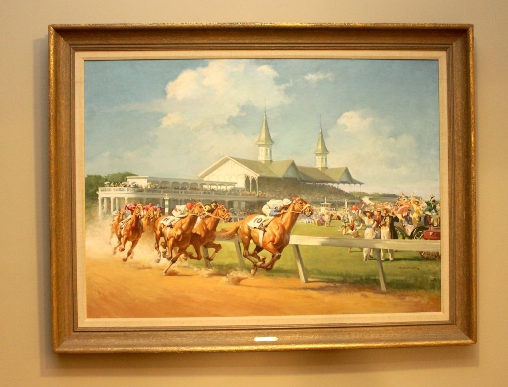 "Haddon Sundblom (1899-1976) - ""The Kentucky Derby"""