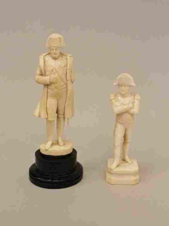 Two Ivory Napoleons
