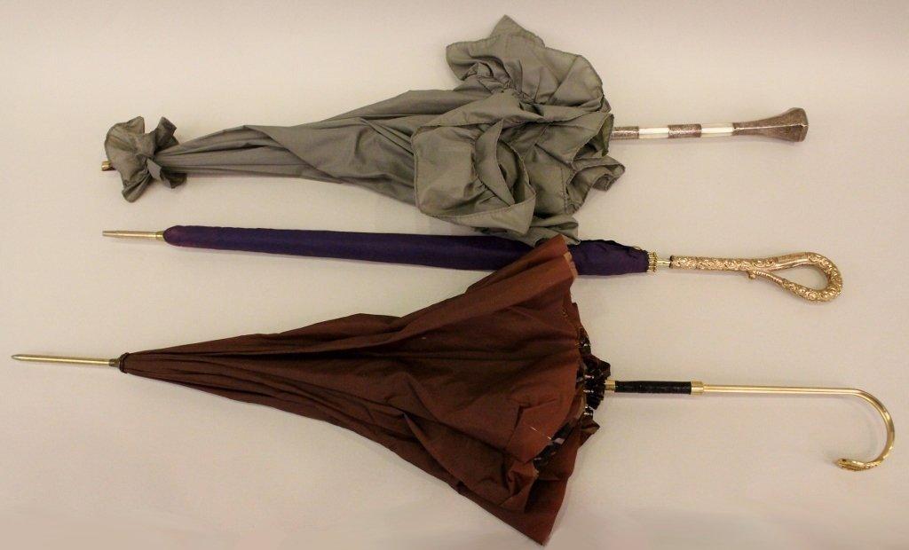 Group of Three Umbrellas/Parasols