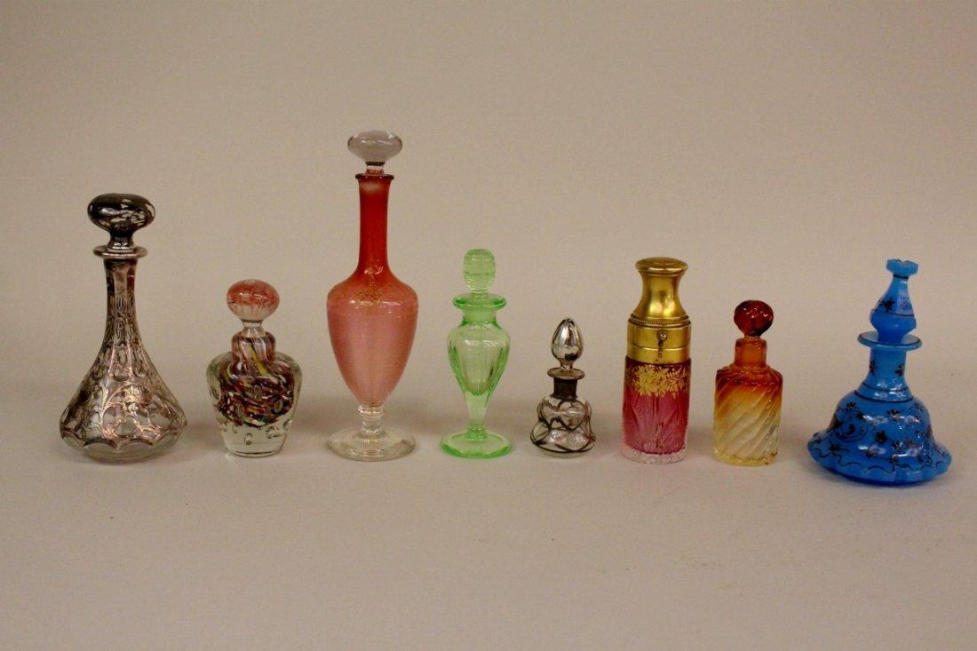 Group of 8 Perfume Bottles