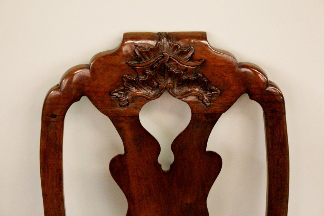 Set of Six Italian Queen Anne Chairs - 2