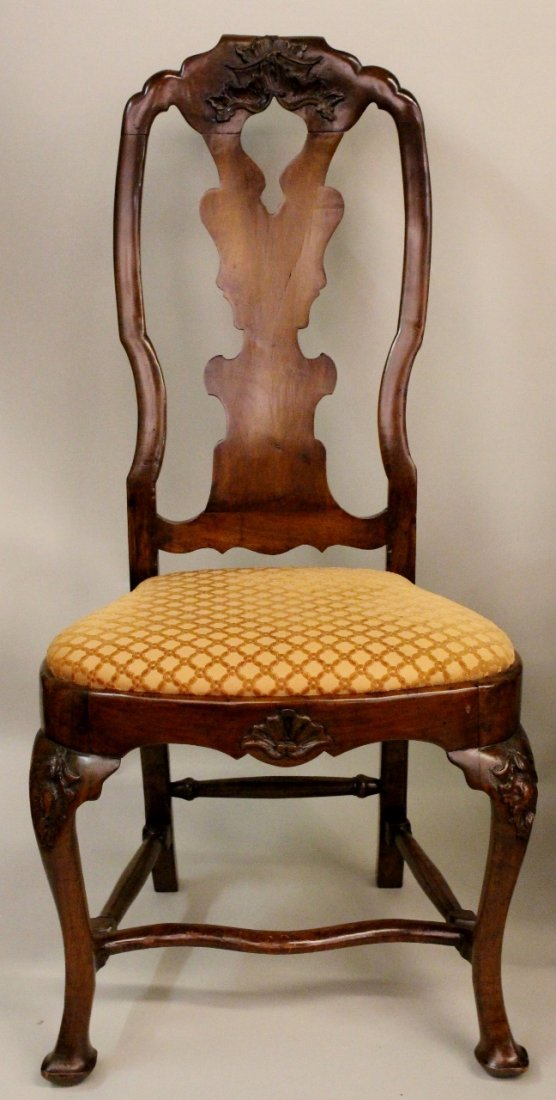 Set of Six Italian Queen Anne Chairs - 3