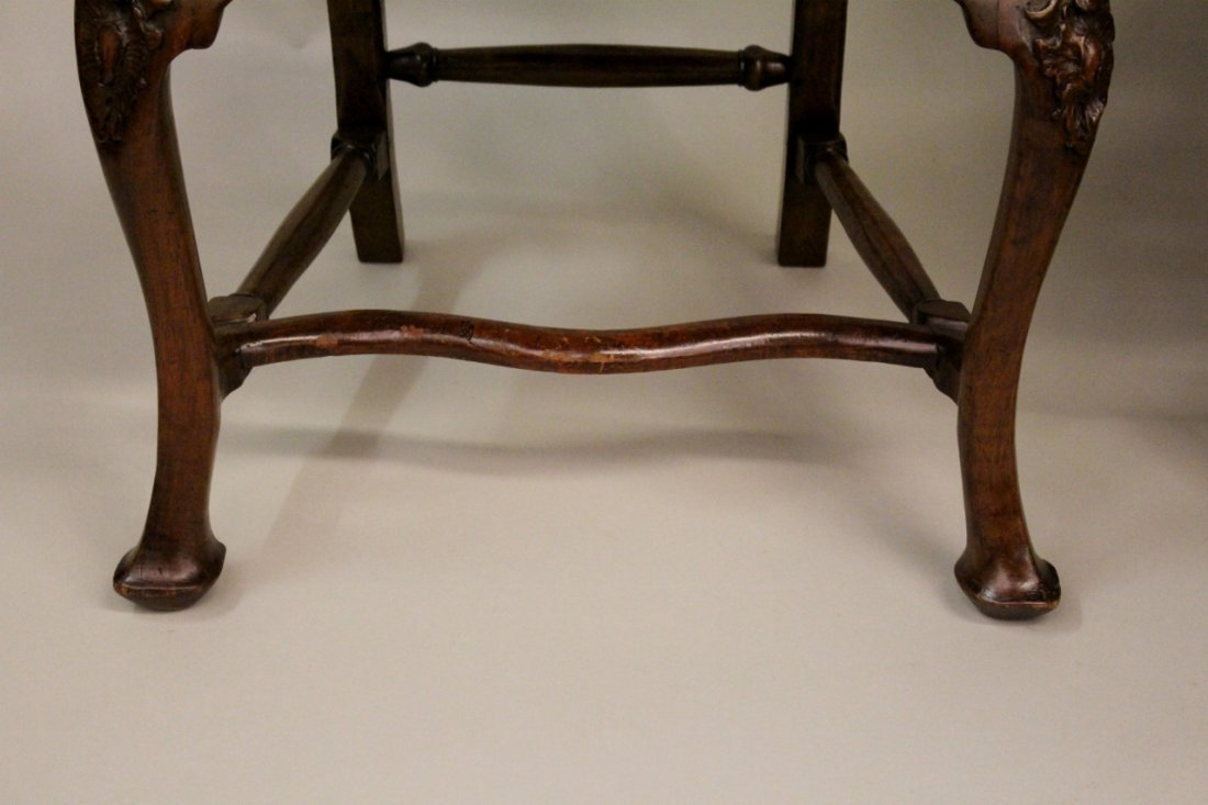 Set of Six Italian Queen Anne Chairs - 5