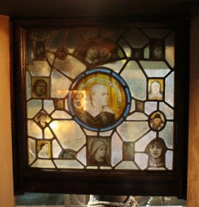 Leaded and Stained Glass Light Box.
