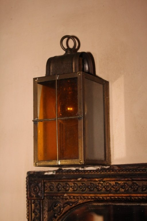 Pair of Copper Nautical Lights