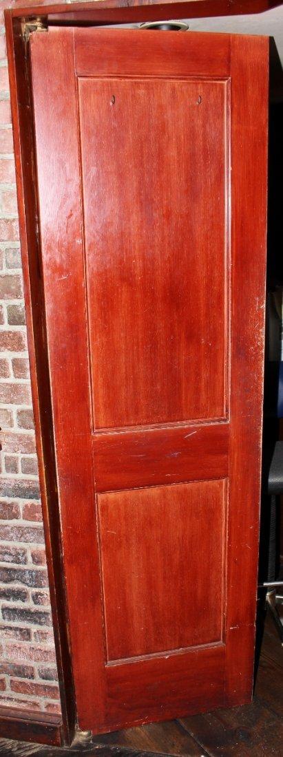Swinging Ship's Door in Mahogany.