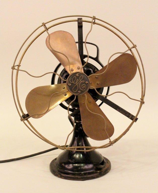 "A Vintage 12"" General Electric (GE) Fan."