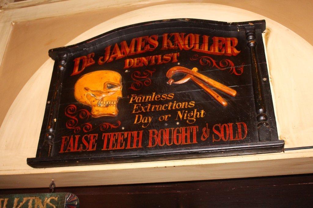 """""""Dr. James Knoller"""" Sign"""