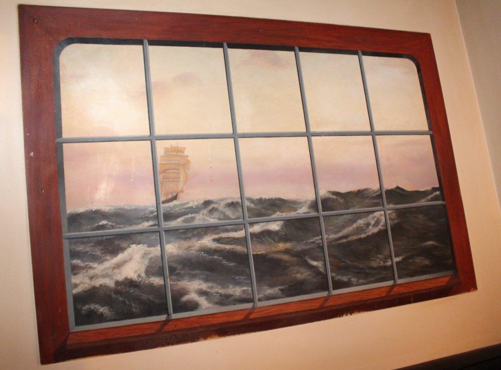 Bill Barnes Sailing Ship Painting