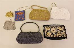 A Group of Seven Ladies Purses