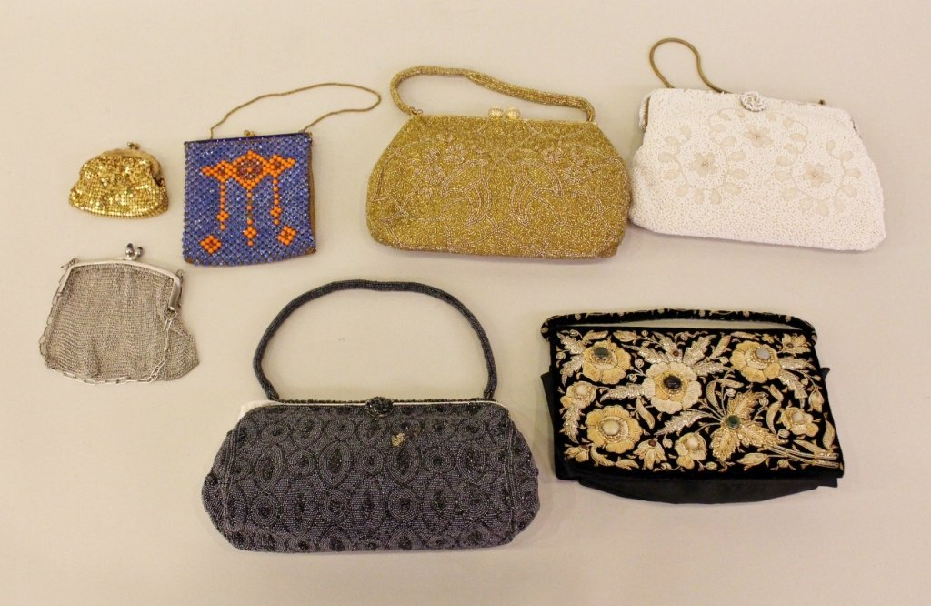 A Group of Seven Ladies' Purses.