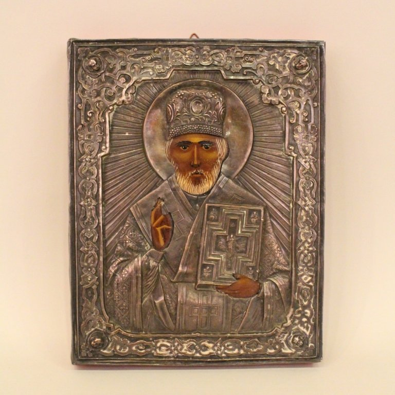 Russian Icon of St. Nicholas.