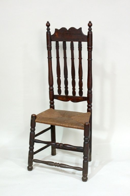 Bannister Back Chair, Mid-18th Century