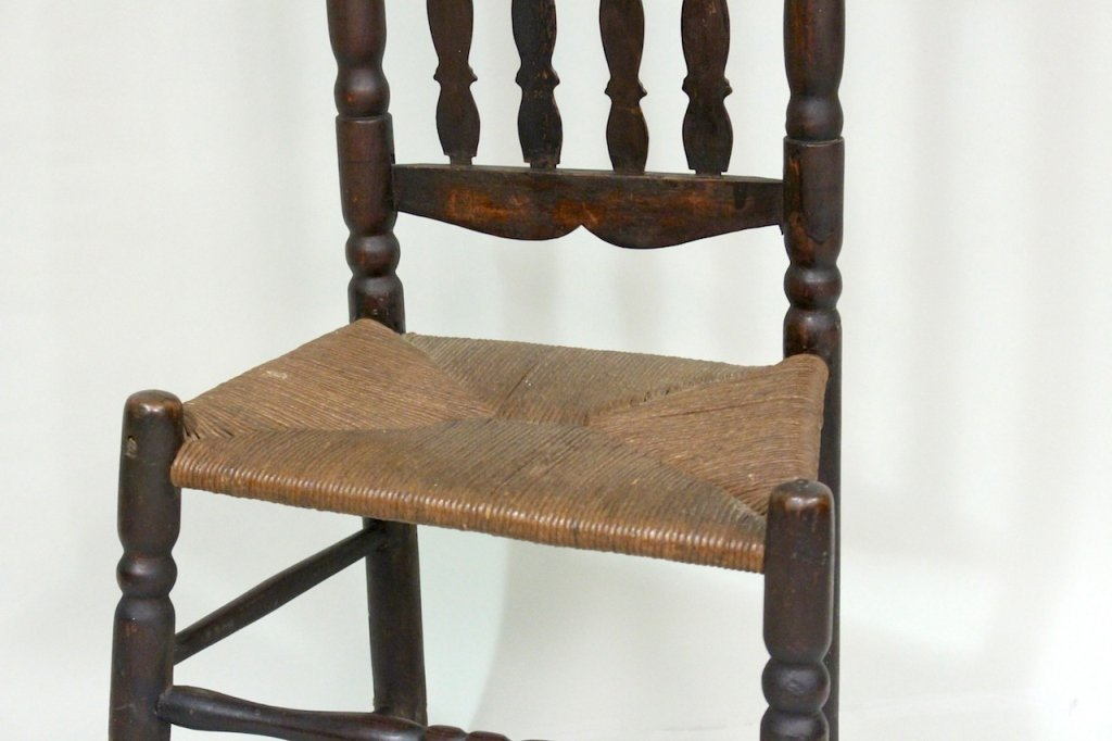 Bannister Back Chair, Mid-18th Century - 2