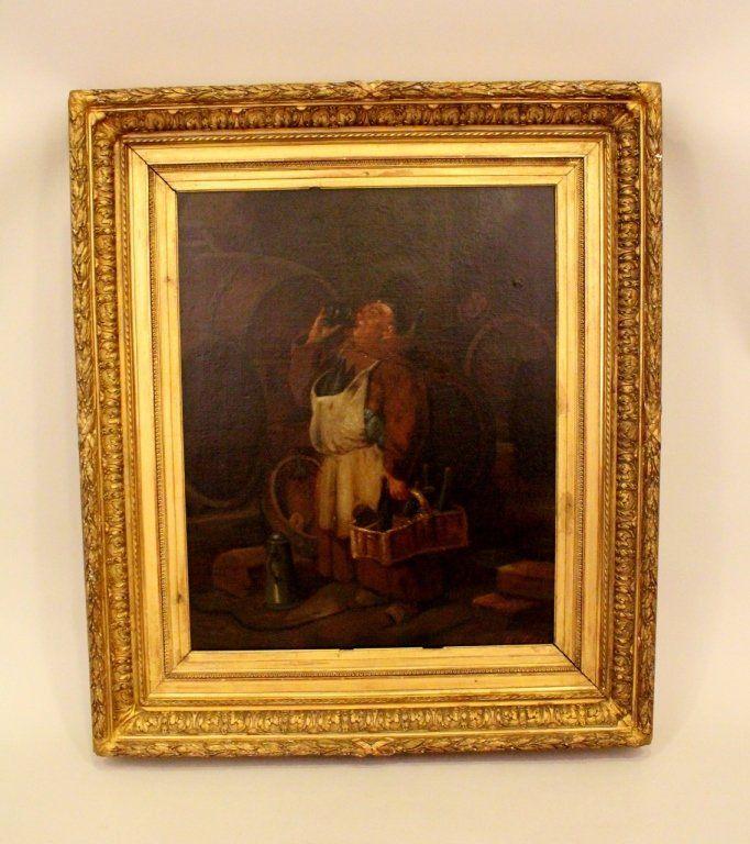 19th C. Continental Drunk Friar Oil.