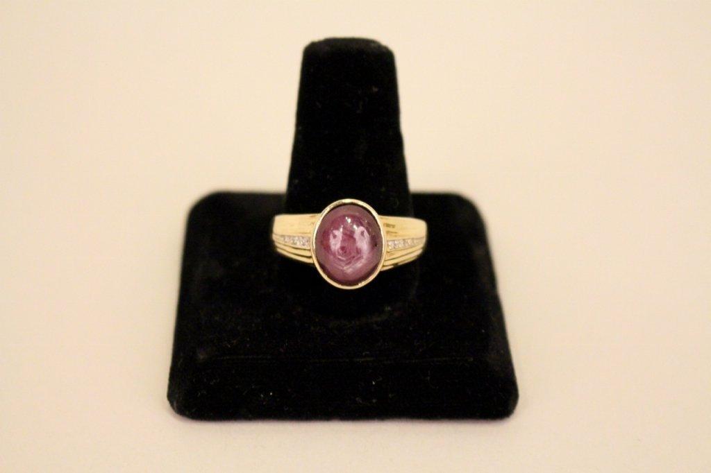 Elvis Presley's Ruby and Diamond Ring.