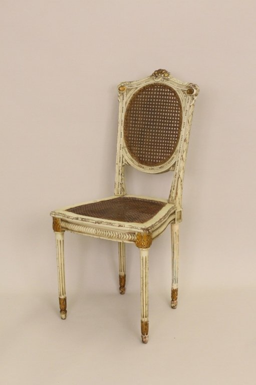 Italian Caned Side Chair